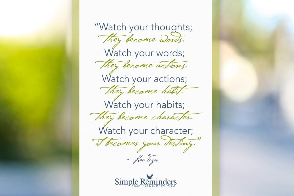 افکار و کلمات