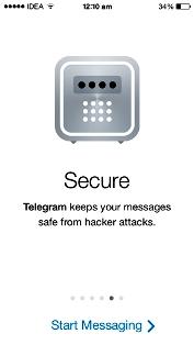 تلگرام امن