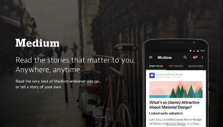 اپ مدیوم Medium